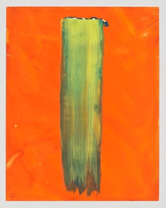 Untitled (43), 2013, gouache on YUPO paper, 14 x 11″