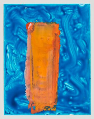 Untitled (46), 2013 gouache on YUPO paper, 14 x 11″