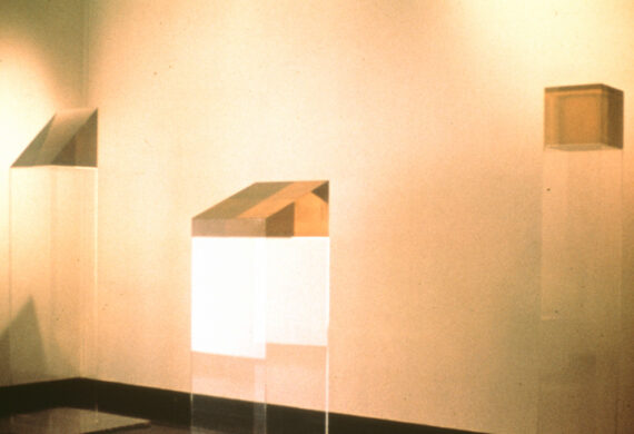 "Exhibition Installation, ""The Industrial Edge"" at Walker Art Center, 1970"