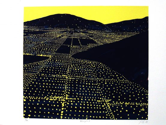 Hallelujah II, 1988, lithograph, edition of 50, 22 x 30″