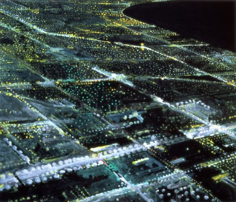 Lawndale, 1998, digital inkjet print on canvas, edition of 20, 42 x 46″