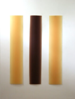 February 27, 1971, 1971, cast polyester resin, 65 x 45″