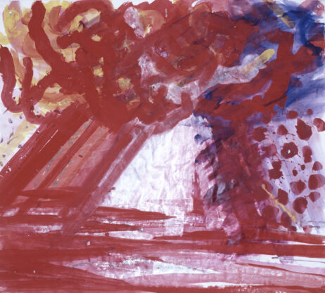 Chula Vista, 1981, gouache on paper, 35 x 40″