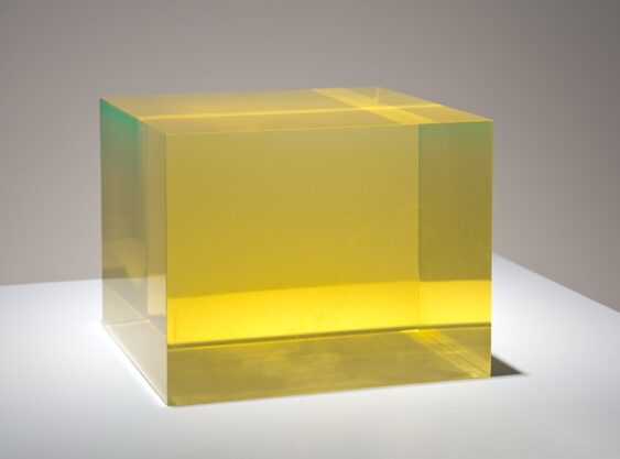 Hunter, 2009, cast polyester resin, 5 x 7 x 7″