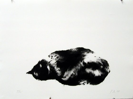 Pink Two, 1999, lithograph, edition of 25, 22 1/2 x 30″