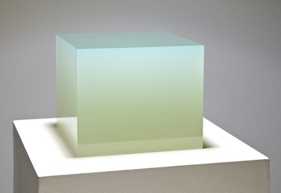 Prado, 2009, cast polyester, resin, 7 x 8 x 8″