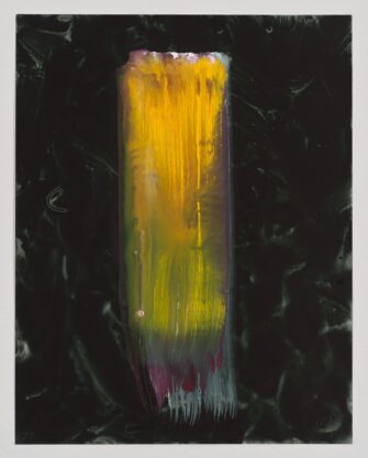 Untitled (22), 2013, gouache on paper, 14 x 11″